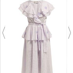 Innika Choo Summer 2019 embroidered dress